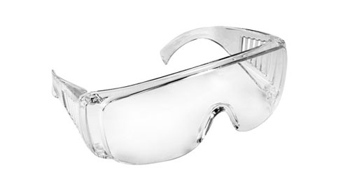Radians Coveralls Safety Glasses, Clear